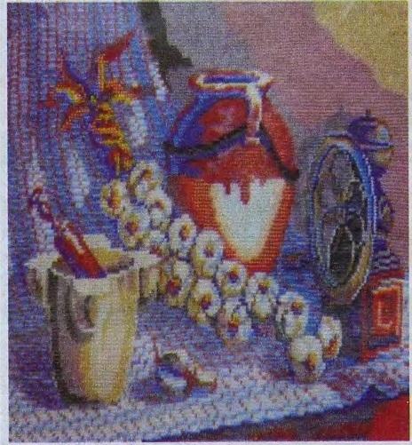 Схема вышивания бисером - Натюрморт