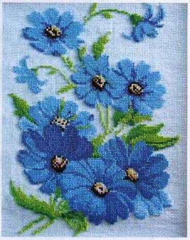Схемы для вышивки бисером скачать бесплатно цветы