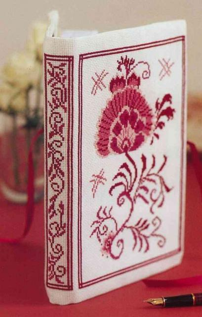 Схема вышивания крестом - Орнамент для блокнота