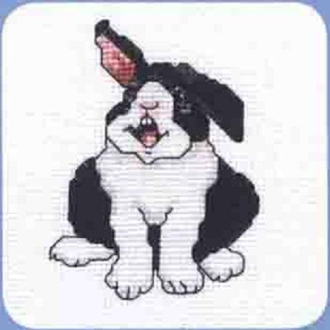 Схема вышивания крестом - Кролик