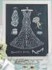 Схема вышивания крестом - Свадебная красавица