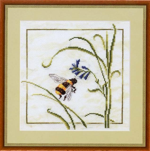 Схема вышивания крестом - Манящий цветок