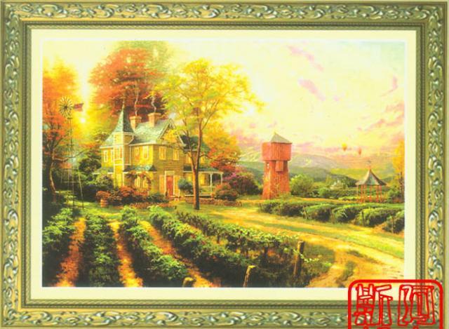 Схема вышивания крестом - Богатый урожай