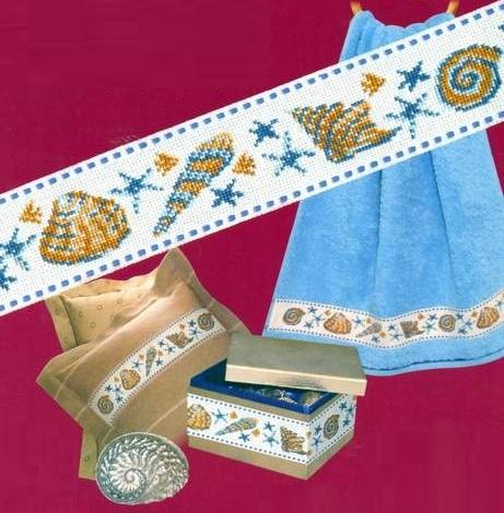 Схема вышивания - Орнамент Ракушки