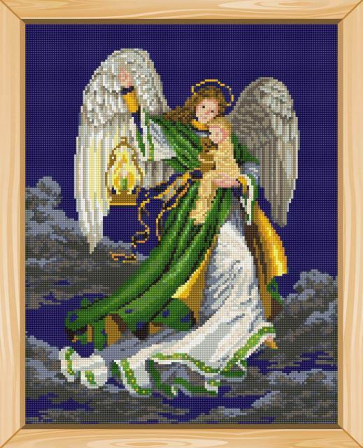 Схема вышивания крестом - Ангел снов
