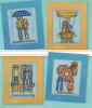 """Схема вышивания крестом - Серия открыток """"Семейная жизнь"""""""