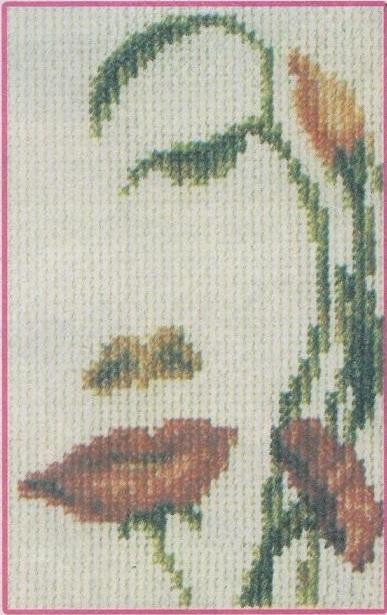 Схема вышивания бисером - Девушка